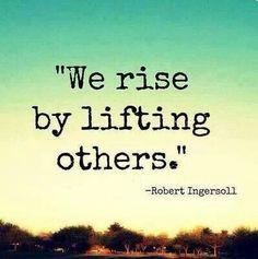 My favorite volunteer quote! #RasSpirit
