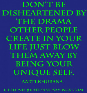 Unique Quotes About Life And Success: Do Not Be Disheartened By The ...