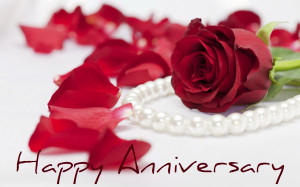 Happy Anniversary With Roses
