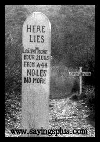 Funny Tombstone Sayings