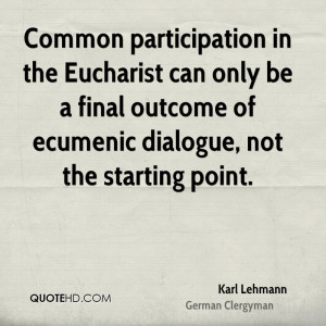 Karl Lehmann Quotes