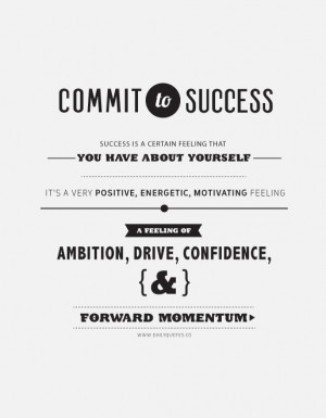 Commit to Success.