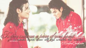 Michael Jackson Wallpaper Quote by VivianaDeJackson