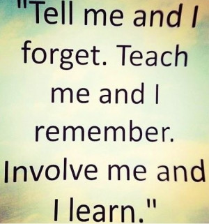 My passion is truly learning and in search of a good learning quote I ...