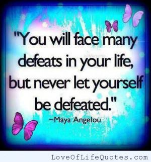 Maya Angelou Quotes Success