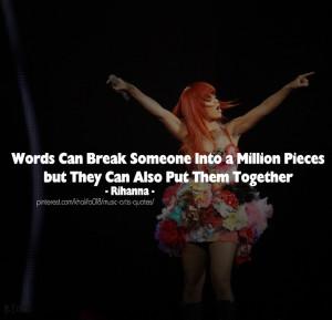 Rihanna Quotes - Words