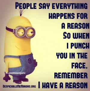 Despicable Me Minions Quotes