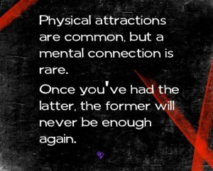 Physical attractions are common....