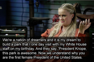 We're a nation of dreamers and it is my dream to build a park that I ...