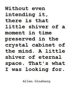 Allen Ginsberg. More
