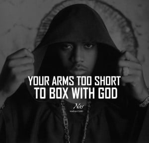 Nas Quotes HD Wallpaper 2