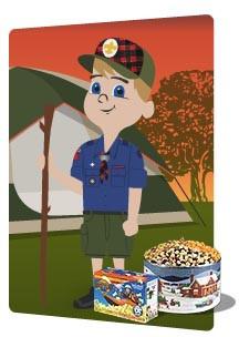 Boy Scout Popcorn Thank You
