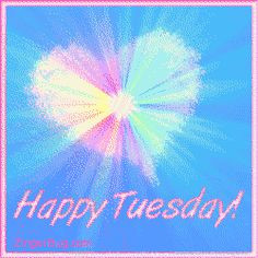 Happy Tuesday Funny Sayings | Happy Tuesday Pastel Starburst Glitter ...