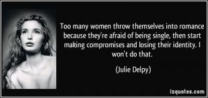 More Julie Delpy Quotes