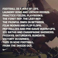 ... football lif colleges football nike sports nike football quotes