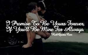 Love Quotes | Love You Forever You Mine Always Couple Hug Kiss Hold ...