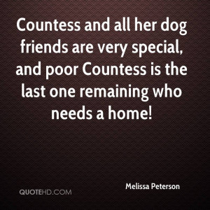 Countess And All Her Dog Friends Are Very Special, And Poor Countess ...