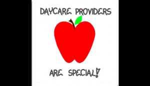 Daycare Provider Magnet - Thank you message, Children's Day Care ...