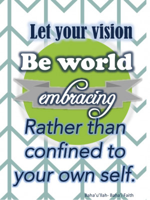 Baha'i Faith Quote