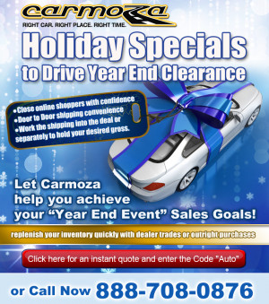 ... Dealers Holiday Specials & Instant Quotes for Year-End Clearance