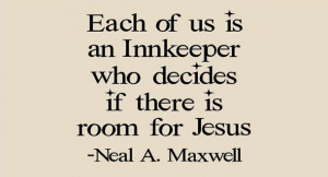 Neal maxwell quote