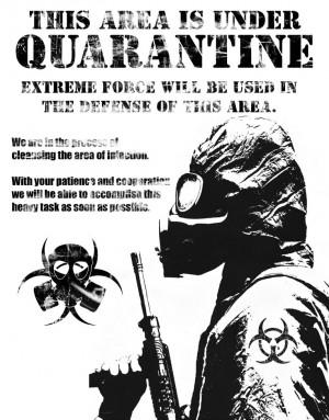 Quarantine Speech Quotes sick I need a quarantine