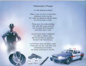 policeman prayers