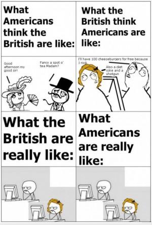 Americans vs. British