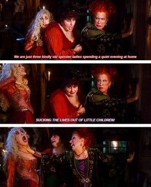 Wish I Was A Sanderson Sister From Hocus Pocus