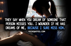 Miss You Quotes   I Miss Him Girl Alone Lonly On bed Miss Him