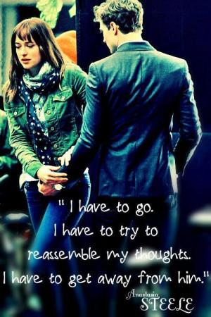 Anastasia Steele quote.