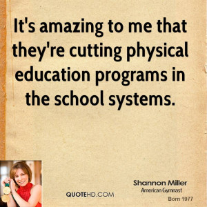Quotes About Physical Education in Schools