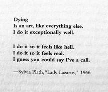 life, poetry, quote, sadness, sylvia plath