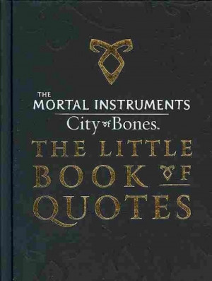NEW-City-of-Bones-The-Little-Book-of-Quotes-by-Cassandra-Clare-English ...