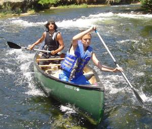 Funny Canoeing