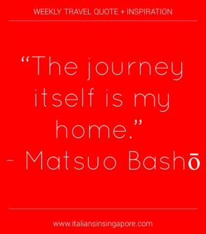 Matsuo Basho Quotes