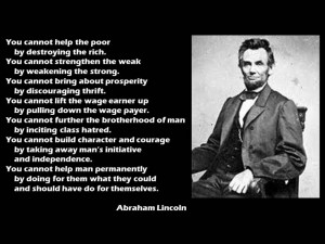 Leadership Quote - Abraham Lincoln