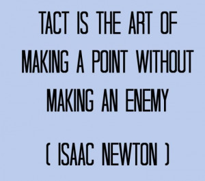 tactile tactful you are people have already made their minds up from ...