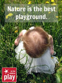 Find areas for children to enjoy nature in some form even in the big ...