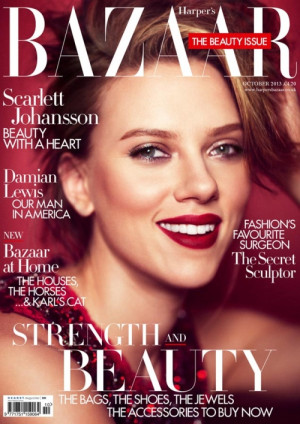 Scarlett Johansson: Hillary Clinton would make a wonderful president