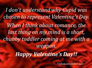 funny-love-Quotes-Valentines - Cupid 1b