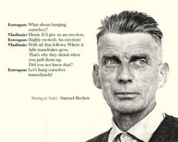 ... between Vladimir & Estragon in Samuel Beckett's