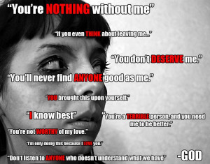 Is God an Abusive Partner?