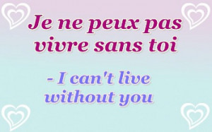 Quotes About Love French Translation