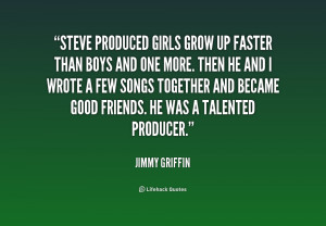 Growing Up Quotes For Girls -girls-grow-up-faster-than