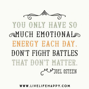 live happily god will fight fight your battles