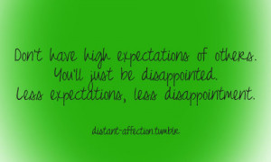 Disappointment Quotes In Relationships Tagged: #love #relationships
