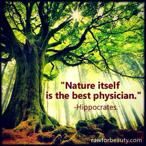 Nature is the best therapy!! #truth