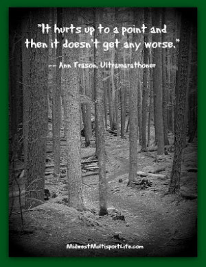 Ann Trason Ultrarunning Quote