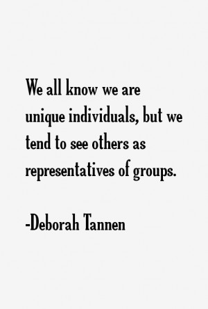 Deborah Tannen Quotes amp Sayings